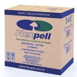 B Papel Toalha Interflex Extra 23x21 C/5000 Flexpell