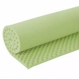 Colchonete Caixa de Ovo D-23 Verde 4 cm Solteiro Luckspuma