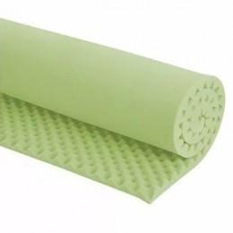 Colchonete Caixa de Ovo D-45 Verde 7 cm Solteiro Luckspuma