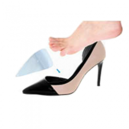 Meia Palmilha para Calçado Feminino Orthosilic