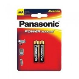 Pilha Alcalina Palito AAA C2 Panasonic
