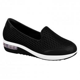 Sapato Modare Tela Sport Preto